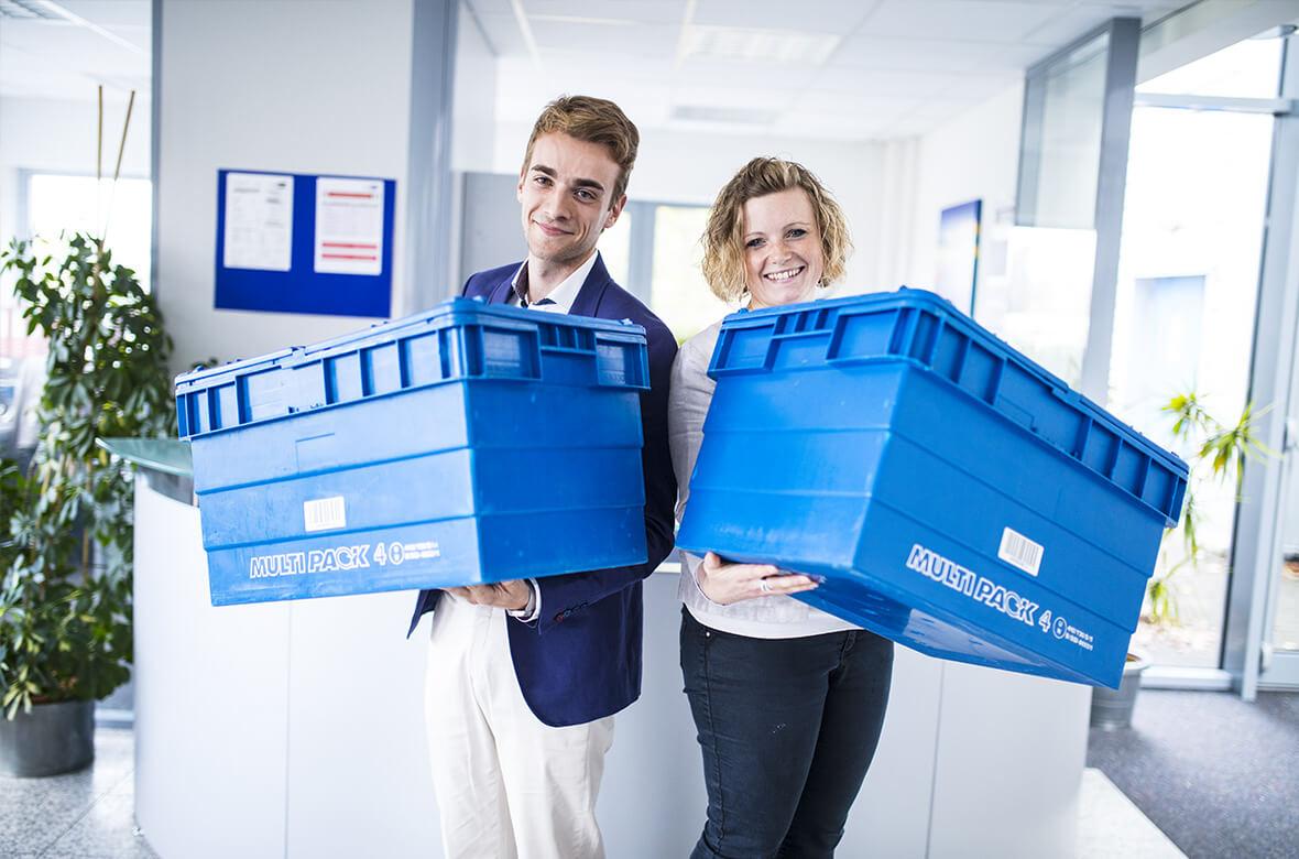 Behältermanagement comepack Order Management